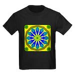 Window Flower 07 Kids Dark T-Shirt