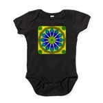 Window Flower 07 Baby Bodysuit