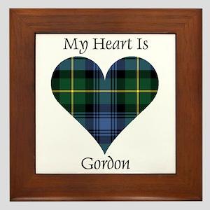 Heart - Gordon Framed Tile