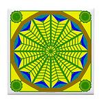 Window Flower 06 Tile Coaster