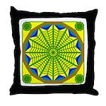 Window Flower 06 Throw Pillow