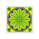Window Flower 06 Square Sticker 3