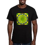 Window Flower 06 Men's Fitted T-Shirt (dark)