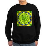 Window Flower 06 Sweatshirt (dark)