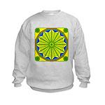 Window Flower 06 Kids Sweatshirt