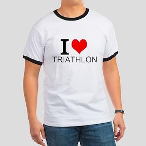I Love Triathlons T-Shirt