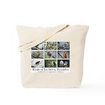Birds of La Selva Ecuador Tote Bag