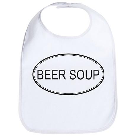 BEER SOUP (oval) Bib