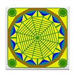 Window Flower 05 Tile Coaster