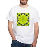 Window Flower 05 White T-Shirt