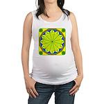 Window Flower 05 Maternity Tank Top