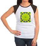 Window Flower 05 Women's Cap Sleeve T-Shirt