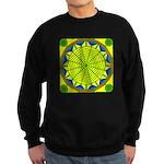 Window Flower 05 Sweatshirt (dark)