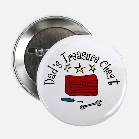 """Dad's Treasure Chest 2.25"""" Button"""
