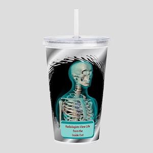 RadiologistOrn Acrylic Double-wall Tumbler