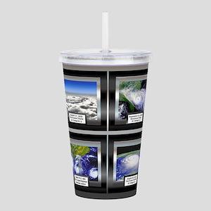 HurricaneTile Acrylic Double-wall Tumbler