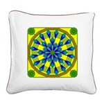 Window Flower 04 Square Canvas Pillow