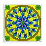 Window Flower 04 Tile Coaster