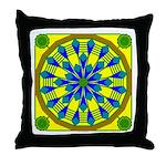 Window Flower 04 Throw Pillow