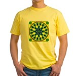 Window Flower 04 Yellow T-Shirt