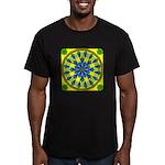 Window Flower 04 Men's Fitted T-Shirt (dark)