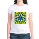 Window Flower 04 Jr. Ringer T-Shirt