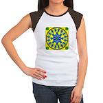 Window Flower 04 Women's Cap Sleeve T-Shirt