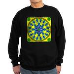 Window Flower 04 Sweatshirt (dark)