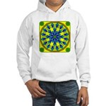 Window Flower 04 Hooded Sweatshirt