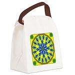 Window Flower 04 Canvas Lunch Bag
