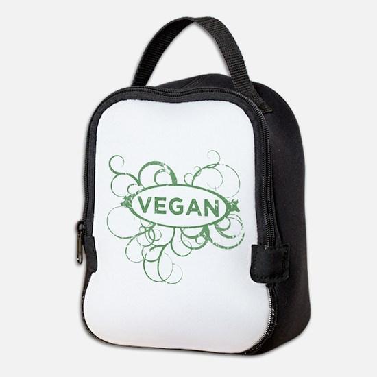 Cool Vegan Art Neoprene Lunch Bag