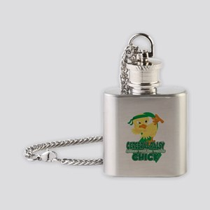 Cerebral Palsy Messed With The Wron Flask Necklace
