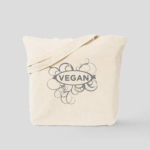 Cool Vegan Art Tote Bag