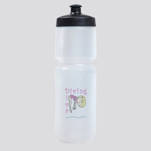 Diving Diva Sports Bottle