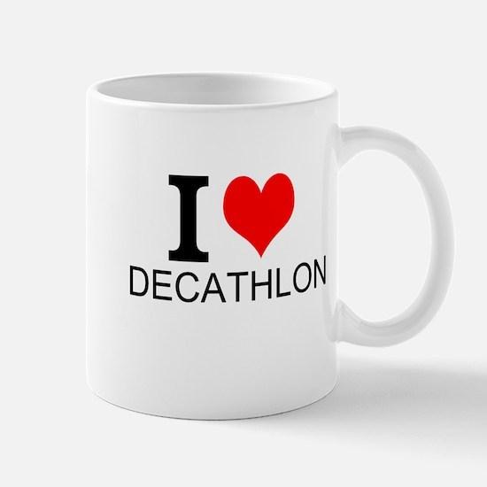 I Love Decathlons Mugs
