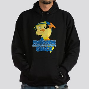 Down Syndrome Messed With The Wrong Hoodie (dark)