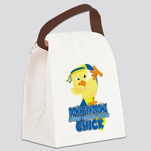 Down Syndrome Messed With The Wro Canvas Lunch Bag