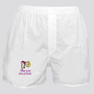 Point Toes Boxer Shorts
