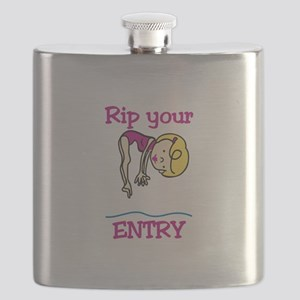Rip Your Entry Flask