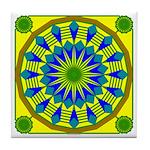 Window Flower 03 Tile Coaster