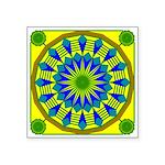Window Flower 03 Square Sticker 3