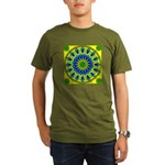 Window Flower 03 Organic Men's T-Shirt (dark)