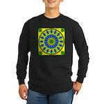 Window Flower 03 Long Sleeve Dark T-Shirt