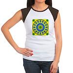 Window Flower 03 Women's Cap Sleeve T-Shirt