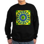 Window Flower 03 Sweatshirt (dark)