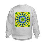 Window Flower 03 Kids Sweatshirt