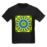 Window Flower 03 Kids Dark T-Shirt