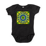 Window Flower 03 Baby Bodysuit