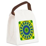 Window Flower 03 Canvas Lunch Bag