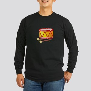 Toy Drums Musical Instrument Long Sleeve T-Shirt
